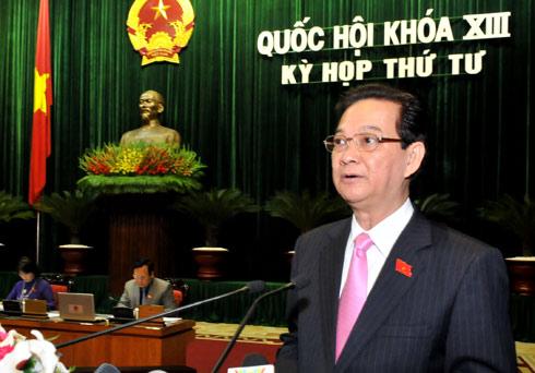 Thủ tướng xin lỗi vì những yếu kém của Chính phủ
