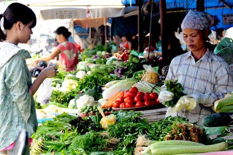 Thực phẩm nhiễm độc được bán ở nhiều chợ