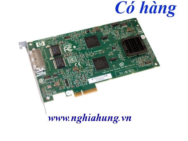 Card mạng HP NC380T Multifunction PCI-e 1000T Dual Port Gigabit Ethernet