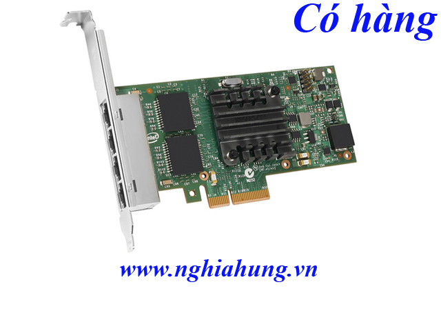 Card mạng Intel I350T4 - Server Adapter PCI Express 2.0 X4