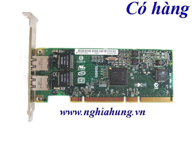 Card mạng Intel PRO/1000 MT Server Adapter Dual Port PCI-X