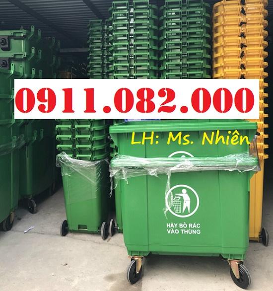 Chuyên bán sỉ thùng rác 120L 240L giá rẻ- thùng rác giá rẻ tại cần thơ- lh 0911082000