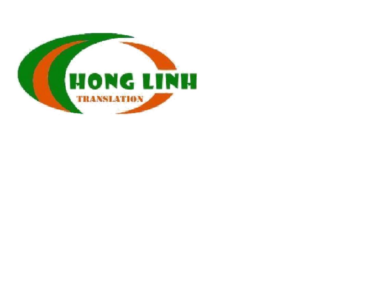 Công ty TNHH Dịch thuật Công chứng Hồng Linh