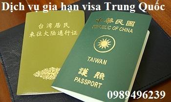 Dịch vụ Xin visa Trung Quốc ở Việt Nam