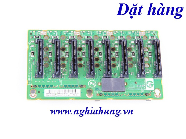 HP SAS Backplane Board For Proliant DL580 G5