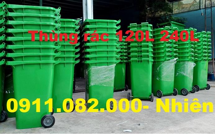 Hậu giang- điểm bán thùng rác 240 lít giá rẻ- thùng rác chất lượng giá thấp- lh 0911082000