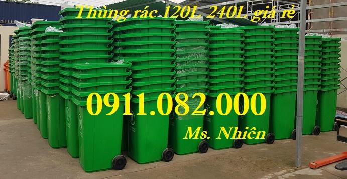 Mua bán thùng rác 120L 240L giá rẻ tại đồng nai, thùng rác công nghiệp 660 lít- lh 0911082000