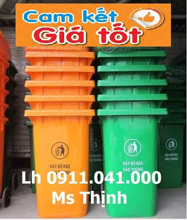 Phân phối thùng rác 40lit 2 ngăn giá rẻ lh 0911.041.000