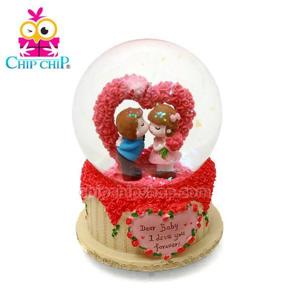 Shop bán quả cầu tuyết tình yêu cho dịp valentine và 8 tháng 3 - TPHCM