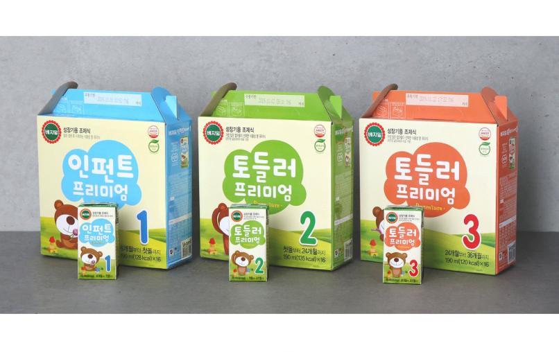 Sữa hạt công thức Vegemil Premium dành cho bé từ 6 tháng đến 36 tháng tuổi