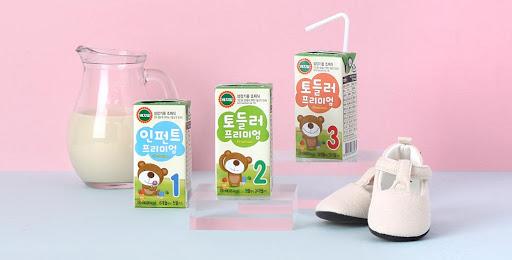 Sữa hạt công thức pha sẵn Vegemil cho bé