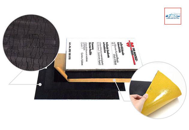 Tấm dán tiêu âm sàn Bitumen Polymer