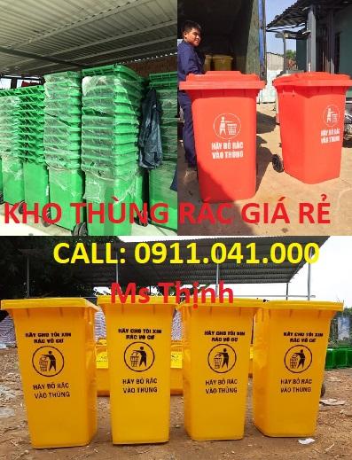 Thùng rác 120l 240 660l phân phối sỉ lh 0911.041.000