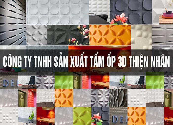 Xưởng bán tấm ốp tường 3D Thái Lan tại Việt Nam